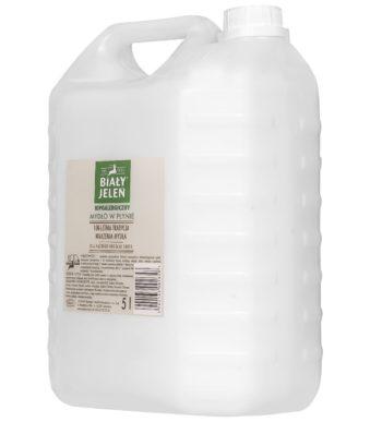 Mydło w Płynie przeciwalergiczne Biały Jeleń 5L