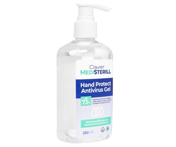Żel Antybakteryjny do Dezynfekcji Rąk MediSterill 73% alk., 250 ml