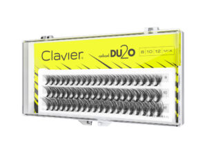 Kępki Rzęs MIX Clavier 8-10-12mm – D2UO Double Volume