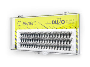 Kępki Rzęs Clavier 8mm – DU2O Double Volume