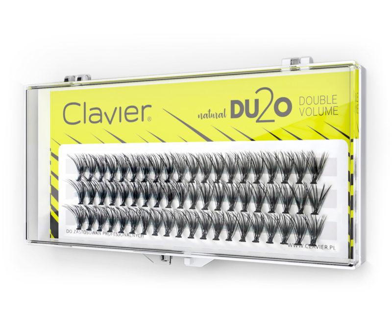 Kępki Rzęs Clavier 8mm – DU2O Double Volume
