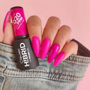 Lakier hybrydowy H!BRID – 020 Miss Pink