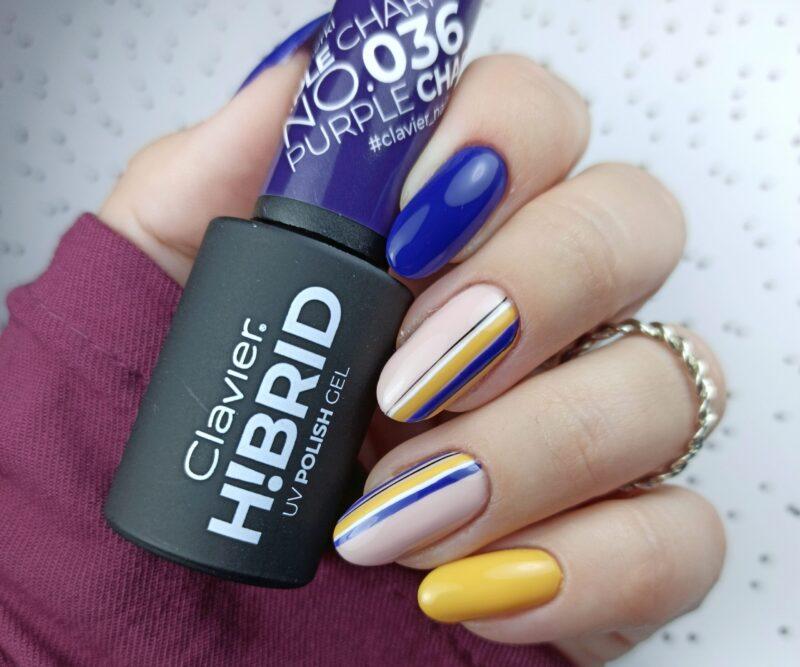 Lakier hybrydowy H!BRID – 036 Purple Charm