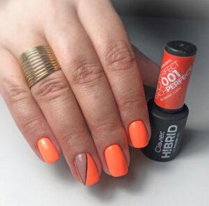 Lakier hybrydowy H!BRID – 001 Peach Perfect