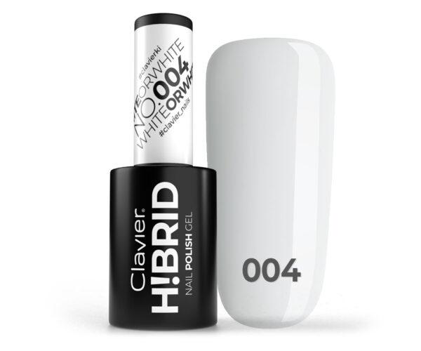Lakier hybrydowy H!BRID – 004 White or White
