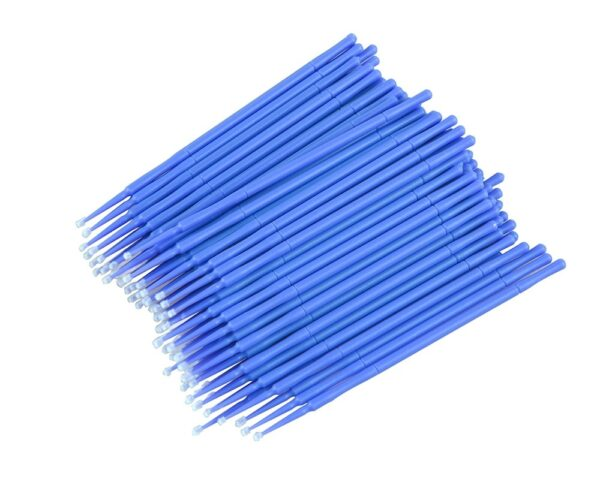 Aplikatory Bezwłókienkowe do Rzęs – 100 szt. – 2,5mm