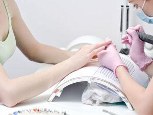 Pochłaniacz Pyłu Biały 40W + 2 worki, manicure